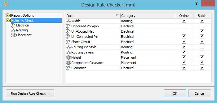 Design Rule Checker | Documentation | CircuitMaker